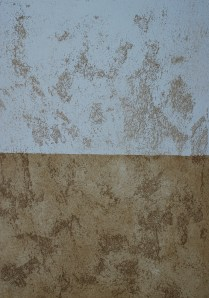textured plaster-glazed/not glazed